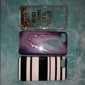 iPhone 6/7/8 phone cases SEPARATELY OR BUNDLE